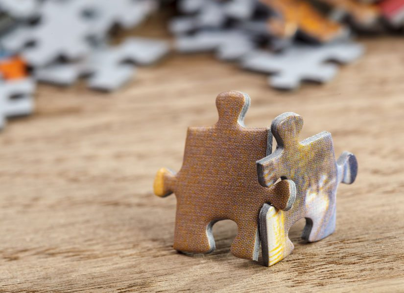Puzzle pieces that fit, like our nonprofit fundraising services will fit your needs