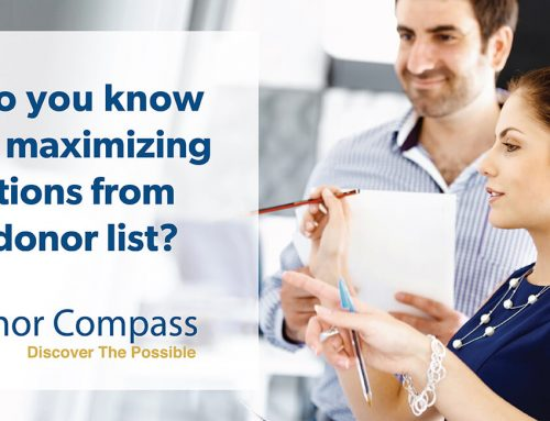 How Do You Know You Are Maximizing Donations From Your Donor List?